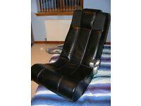 Black X Rocker Gaming Chair