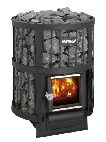 NEW! Harvia Legend 150 Woodburning Sauna Heater, Free Shipping & Eucalyptus!