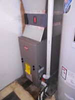Furnaces installed from $850 high and mid efficiency