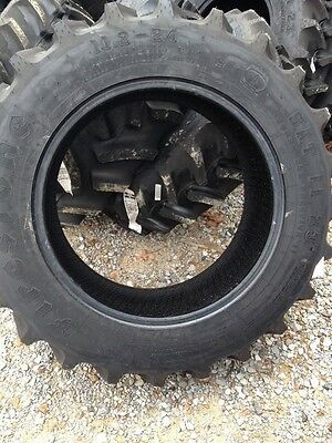 One 11.2x24 Firestone Sat Ii Ford John Deere 8 Ply R1 Bar Lug Farm Tractor Tire