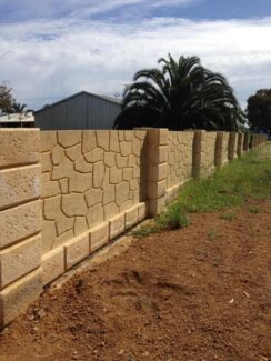 Limestone and rammed earth blocks Neerabup Wanneroo Area Preview
