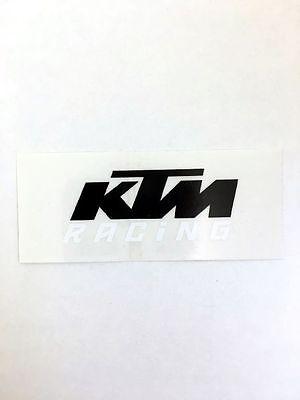XY000111 KTM Logo Original Sticker Aufkleber KTM Racing Schriftzug SX EXC