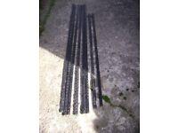 Twin slot metal steel racking for shelving bracket dexion shed garage workshop greenhouse office