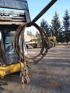 4- 30' Leg , 15 Ton Wire Rope Sling
