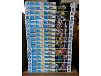 Dragonball Z Manga Vol 1-18