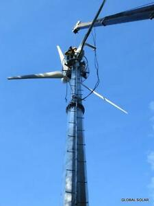 Wind Turbine - 15 KW - GLOBAL SOLAR - Electrical Independence Comox / Courtenay / Cumberland Comox Valley Area image 1