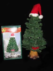Sapin parlant et animé décoration de Noël