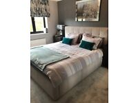 Fabric Super King Size Upholstered Storage Bed   Dark Grey   RRP £1,735