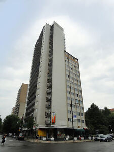 (3 1/2 ) 1 bedroom, Downtown Montreal, Mcgill area