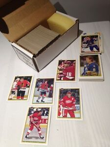 Sort # : 907 - 264 cartes Hockey- Set Complet