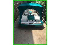 Paddle Boat-Battery Powered Escape Electric glide Excellent condition