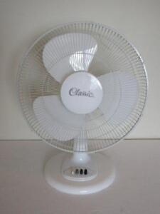 "16"" Oscillating Table Fan -- 3 Speeds"