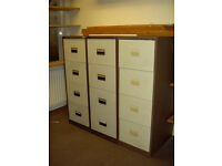 FREE 4 draw filing cabinets