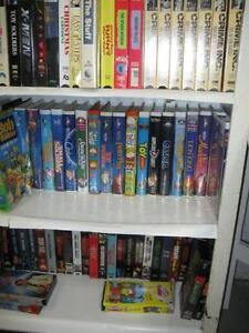 Over 200 VHS Movies