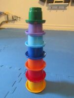 TOLO Stacking Cups - 7 cups