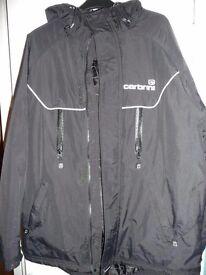 Carbrini Boys black coat age 12 - 13