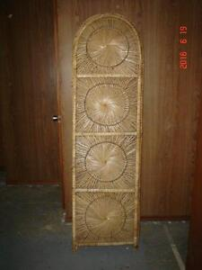 Wicker/Rattan Room Dividers x 2