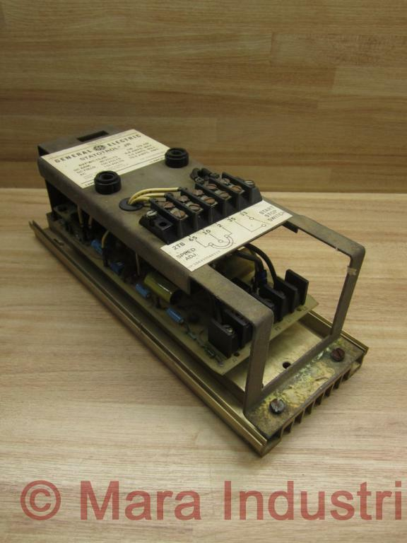 General Electric 6VFWC15JR Statotrol Jr. Controller No Fuse Holders Knobs
