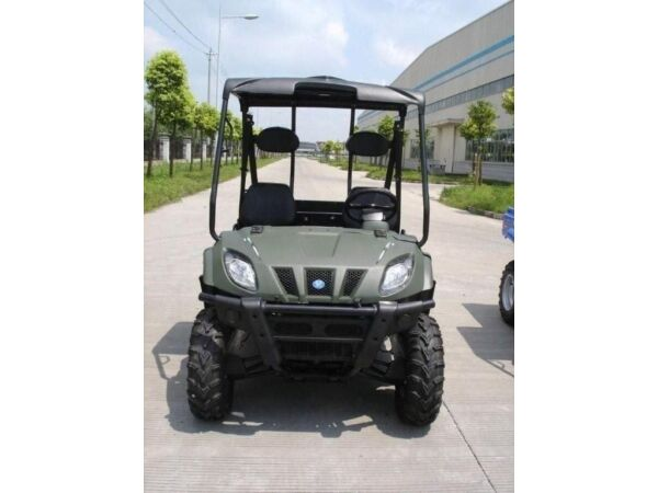 Used 2013 Linhai 400SE ATV and Bighorn 28S UTV side by side