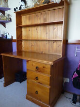 Desk with drawers & shelves Glenmore Park Penrith Area Preview