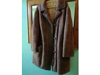 Hand Made Vintage Sheepskin Ladies coat
