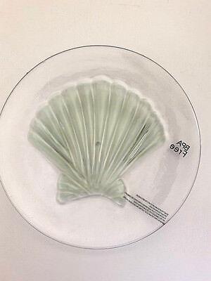 Shell Appetizer - Shell Clear Melamine Plates 8