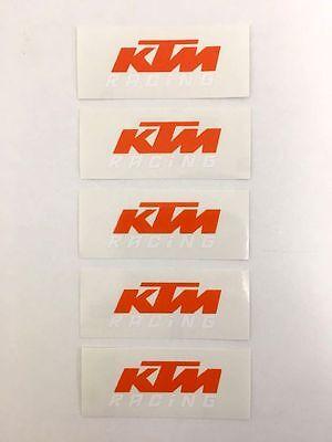 XY001101 KTM Logo Original Sticker Aufkleber KTM Racing 950 Supermoto