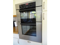 Zanussi Electric Double Oven.