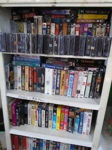 Various VHS Movies – all types
