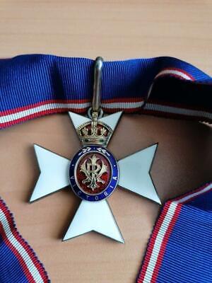 UK Great Britain CVO Victorian Royal Order 3rd class , Commander Cross !