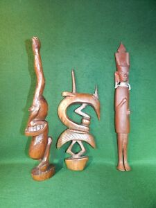 African Carved Figurines