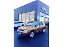 Jeep Compass 2.2 CRD 70th Anniversary Station Wagon 4x4 5dr,38000 diesel,full service history, MOT