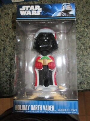 2010 FUNKO Star Wars Darth Vader Bobble-Head Christmas Holiday NEW!!