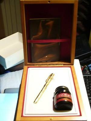 SHEAFFER COMMEMORATIVE LIMITED EDITION FOUNTAIN PEN MED PT NEW IN BOX 0320/6000