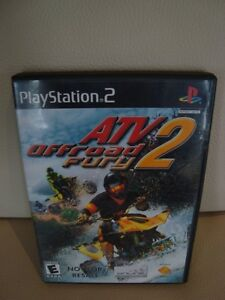 Playstation 2 Video Game - ATV Offroad Fury 2 - Great shape