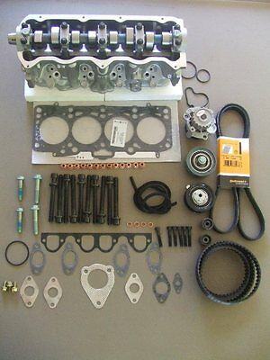 VW ALH TDI GOLF JETTA NB COMPLETE HEAD KIT WITH GASKETS TIMING KIT ALL NEW 1225