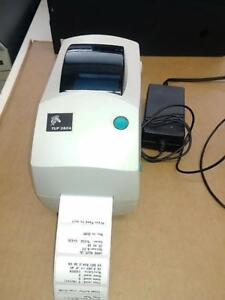 ZEBRA TLP 2824 Label Thermal Printer *Parallel interface * With POWER SUPPLY