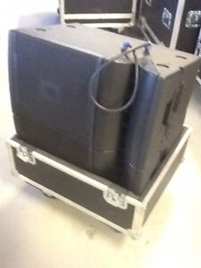 JBL VRX932 LAP Powered Line Array Speakers