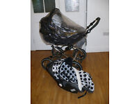 OOAK Buggy/Pram: Baby Style Prestige 3-in-1 Travel System, 2 chassis (classic and S3D). RP £800.