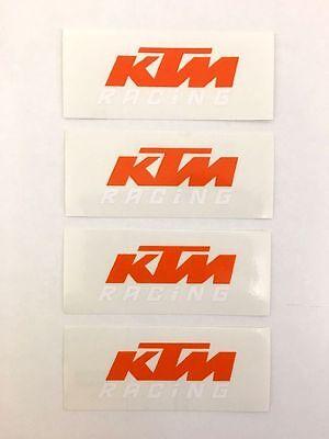 XY001010 KTM Logo Original Sticker Aufkleber KTM Racing RC125 390