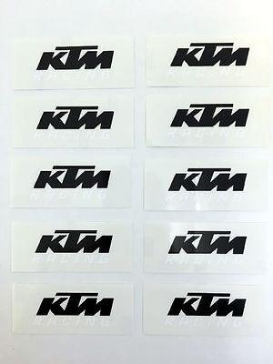 XY000666 KTM Logo Original Sticker Aufkleber KTM Racing Adventure 1190