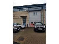MODERN 2250 SQ FEET WAREHOUSE TO RENT in HAYES UB4 AREA £1500 PM plus RATES