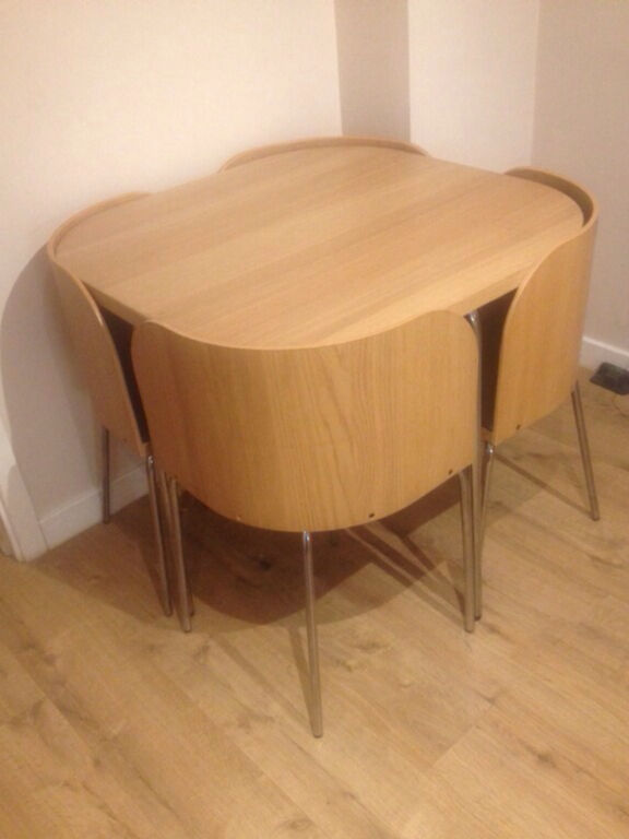 Exceptionnel Ikea Square Table With 4 Corner Chairs