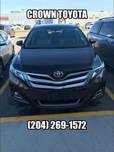 2013 TOYOTA VENZA TOURING V6 AWD! ONE OWNER, LOCAL TRADE IN @ C