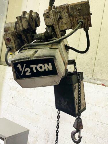 COFFIN 1/2TON ELECTRIC CHAIN HOIST