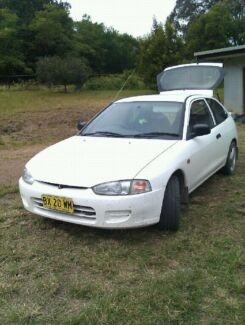 1998 Mitsubishi Mirage Hatchback Wingham Greater Taree Area Preview