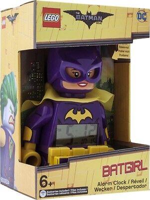NEW LEGO Batman Movie Batgirl Minifigure Clock from Mr Toys