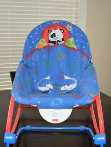 Fisher Price Vibrating/Rocking Chair - Farm Theme