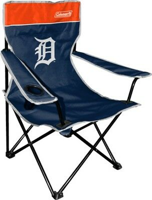 Coleman MLB Detroit Tigers Coleman Quad Chair with Carry Bag New Free Shipping