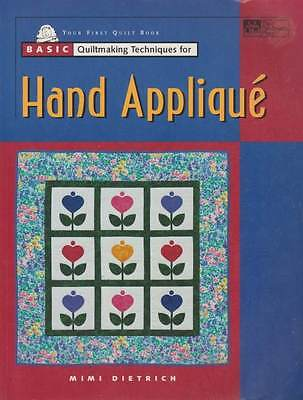 Prime QUILTMAKING TECHNIQUES FOR HAND APPLIQUE' & PROJECTS